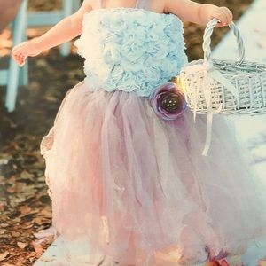 Other - Romantic garden fairy flower girl dress